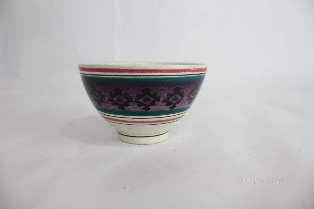 English Spongeware Cup
