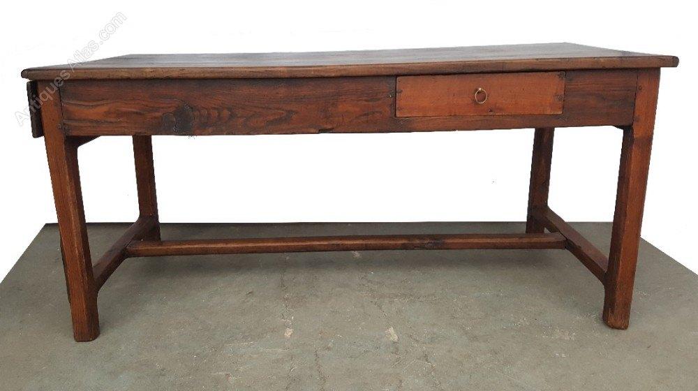 Solid Oak Farmhouse Table Antiques Atlas