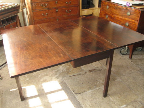 Merveilleux Georgian Drop Leaf Mahogany Table Antique Drop Leaf Tables ...
