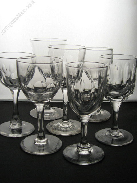 Antique Sherry Glasses For Sale