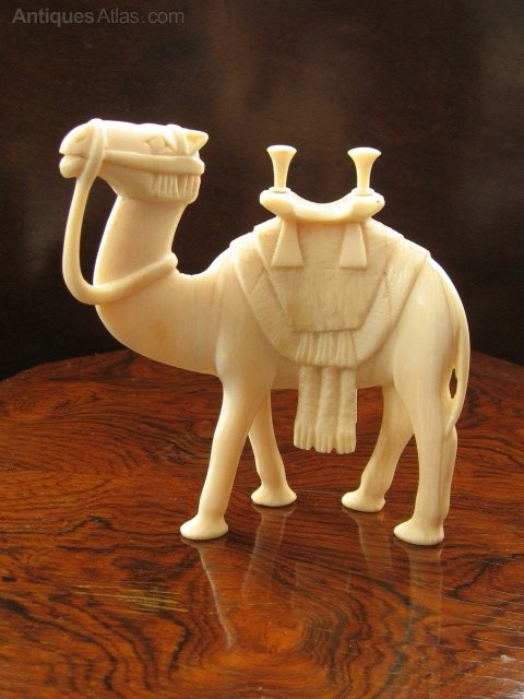 Antiques Atlas Carved Ivory Camel