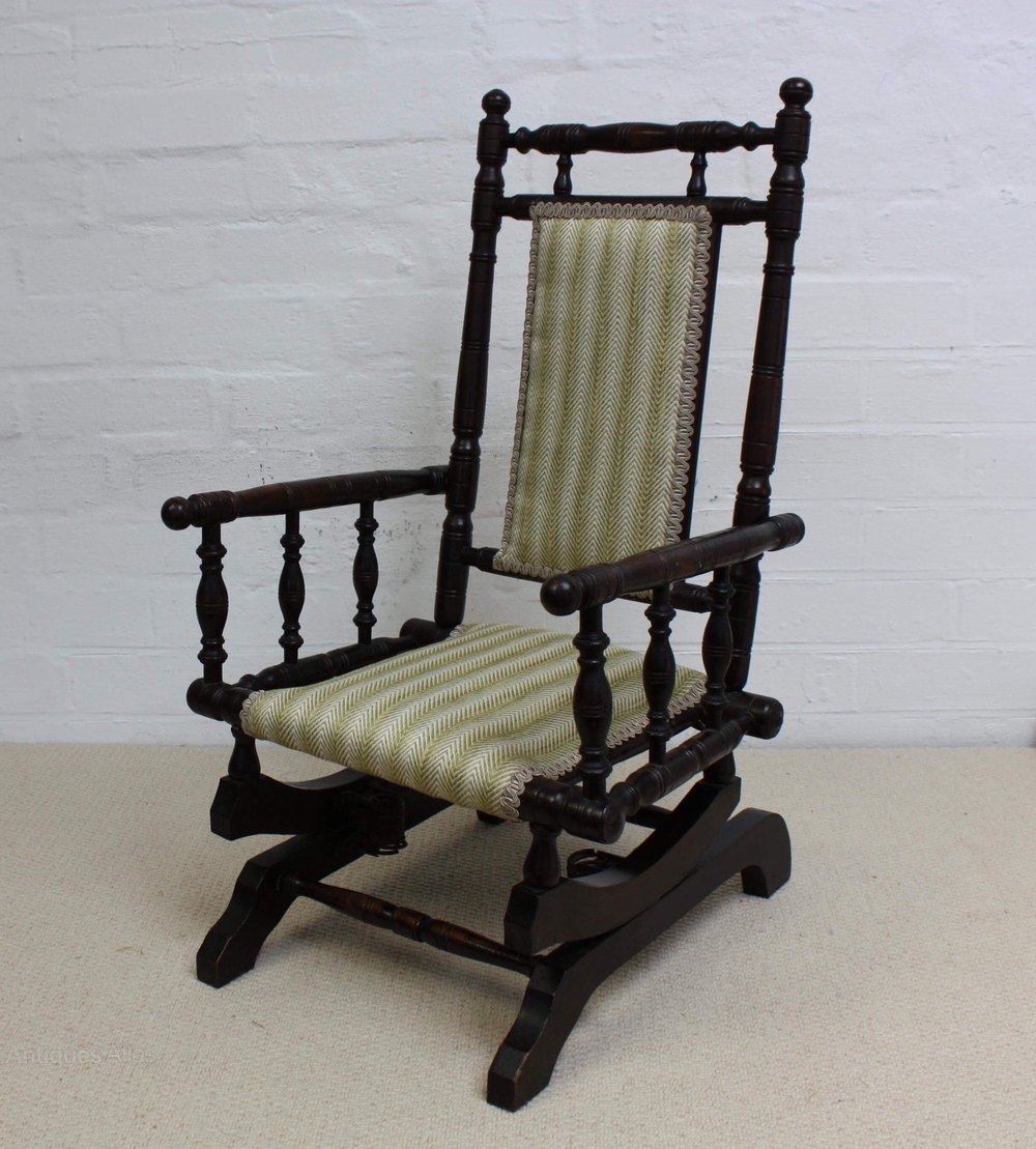 A Victorian Child S American Rocking Chair Antiques Atlas