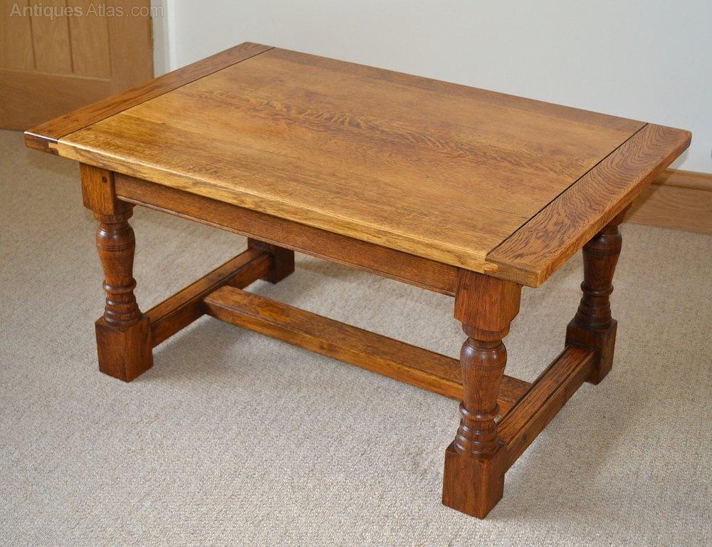 Antiques Atlas Mid Century English Oak Coffee Table - Mid century oak coffee table