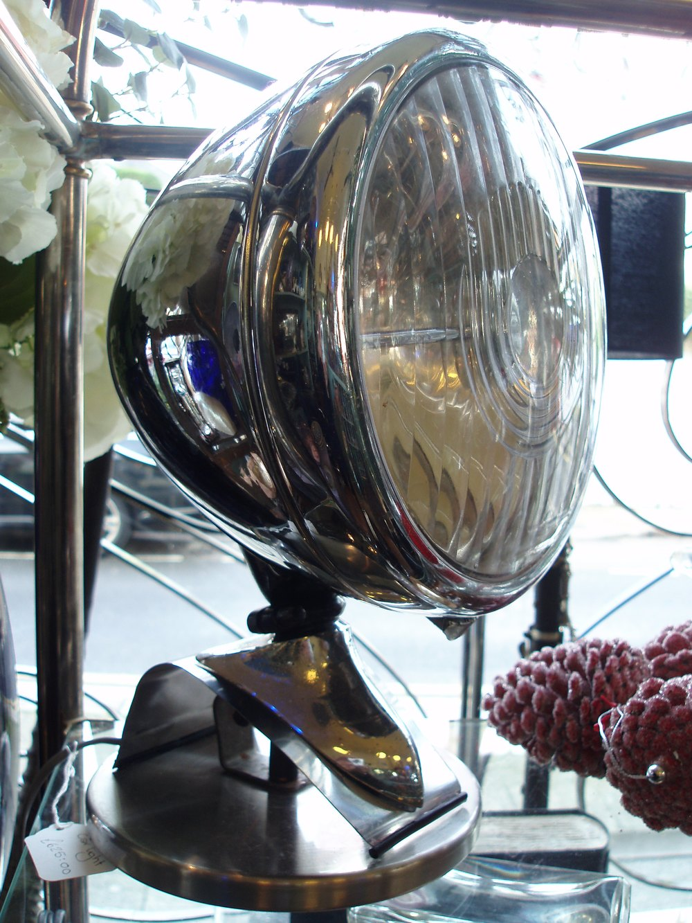 Car Headlamp Table Lamp Lamp Design Ideas