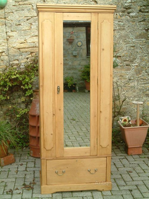 - A Restored Small Victorian Antique Pine Wardrobe - Antiques Atlas