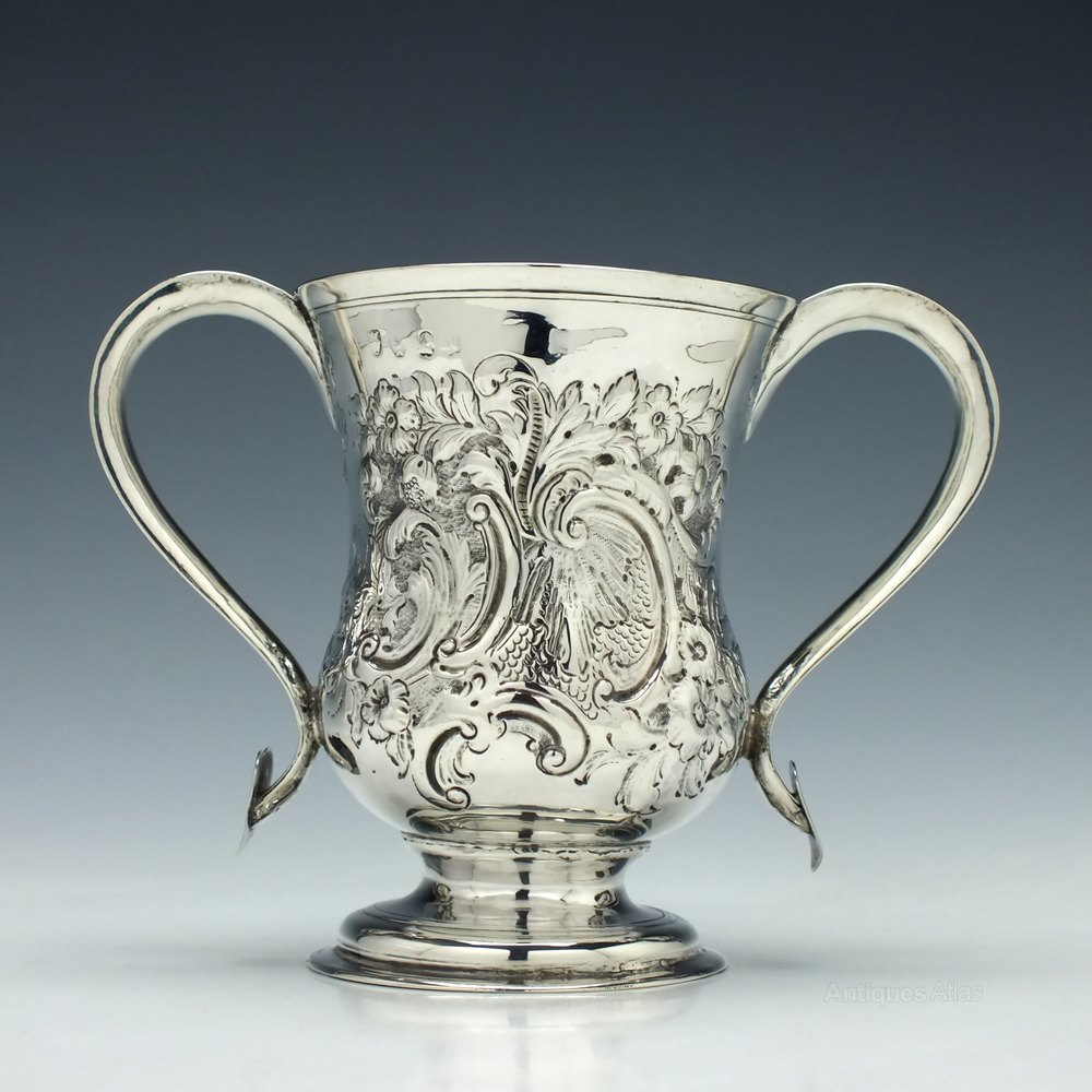 Antiques Atlas George Iii Silver Loving Cup Newcastle 1803