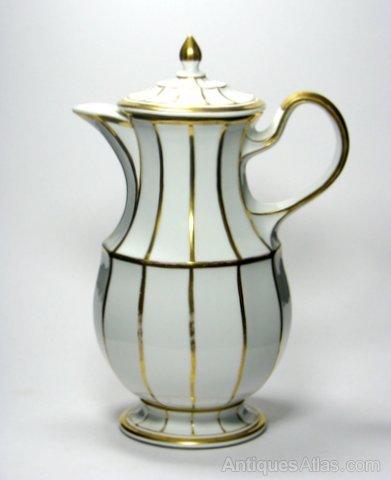 Antiques Atlas - KPM Porcelain Coffee Pot C1845