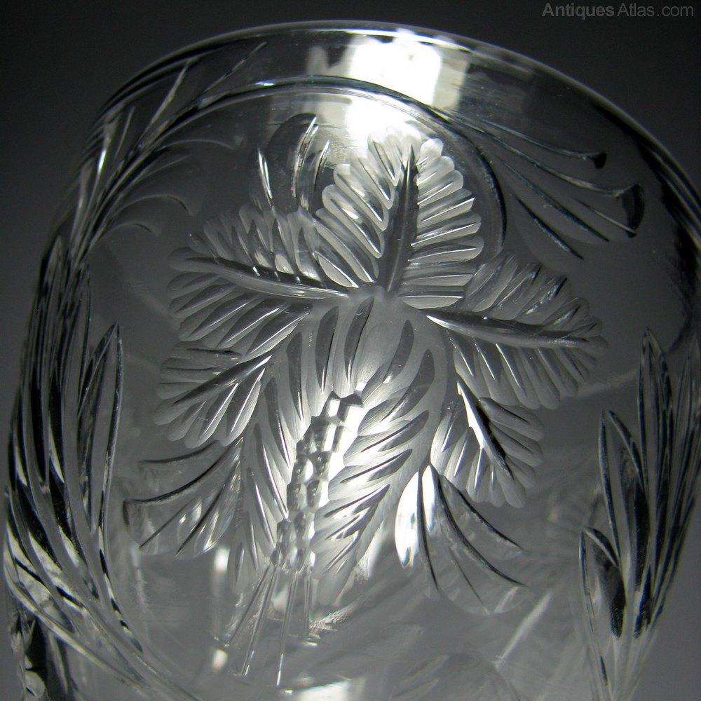 Antiques atlas stevens williams intaglio cut glass vase c1935 stevens and williams glass vase intaglio cut glass vase reviewsmspy