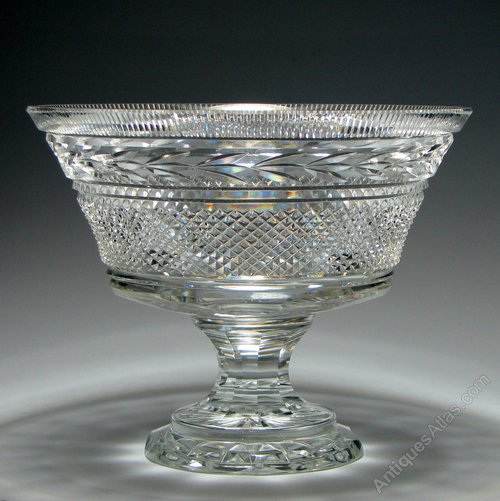 Antiques Atlas Waterford Crystal Glandore Pattern Footed
