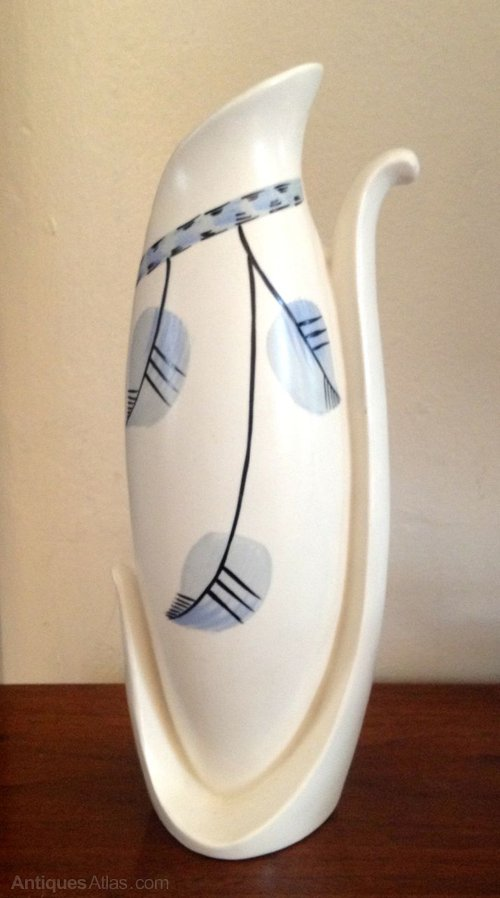 Antiques Atlas Art Deco Burleigh Ware Vase