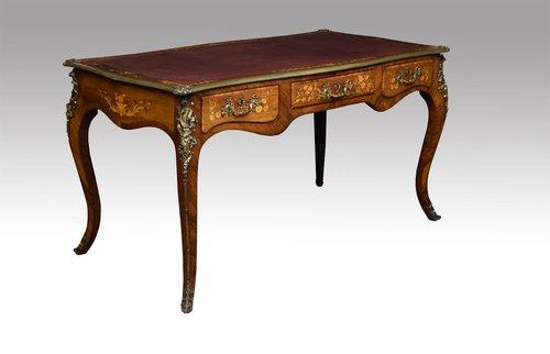 Bureau plat in the louis xv manner antiques atlas