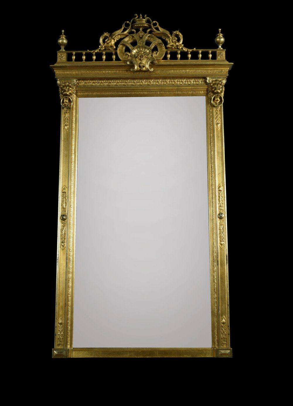 Antiques Atlas - Empire Style Giltwood And Composition ...
