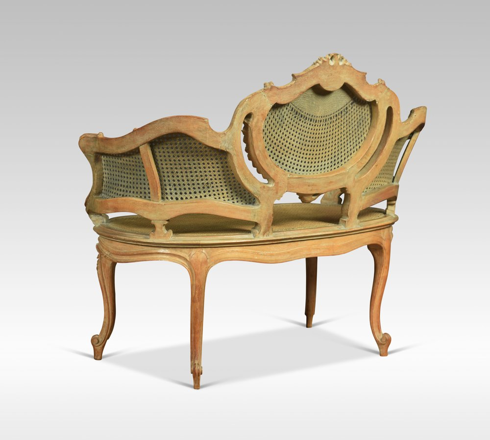 Louis xv style canap settee antiques atlas for Canape style louis xv