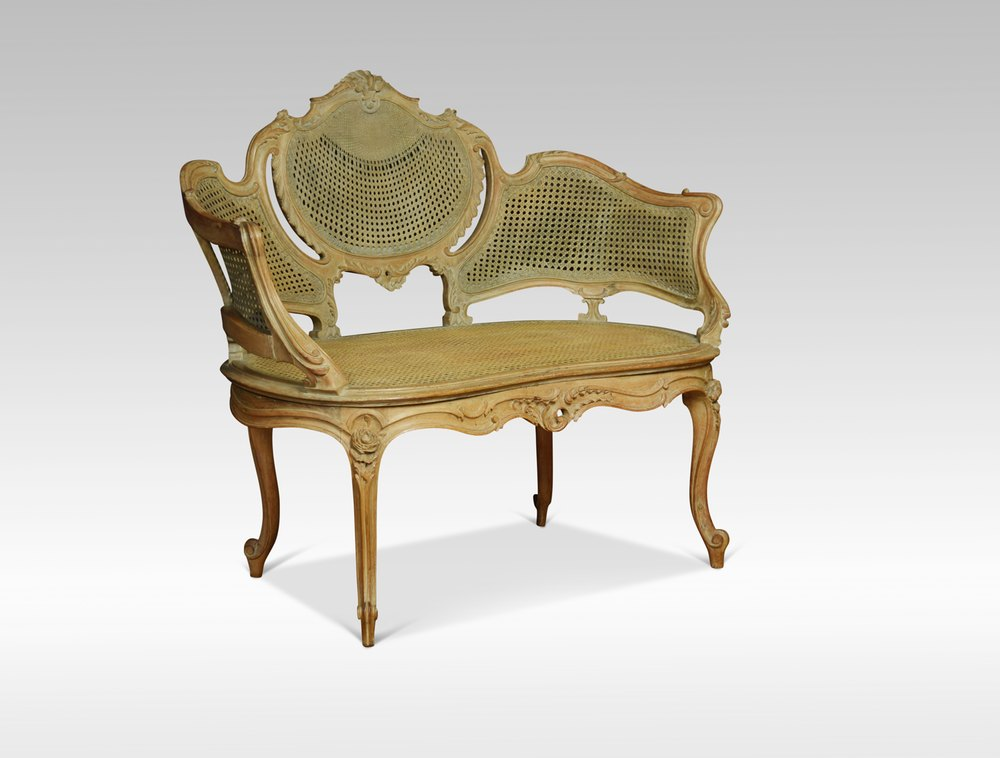 louis xv style canap settee antiques atlas. Black Bedroom Furniture Sets. Home Design Ideas