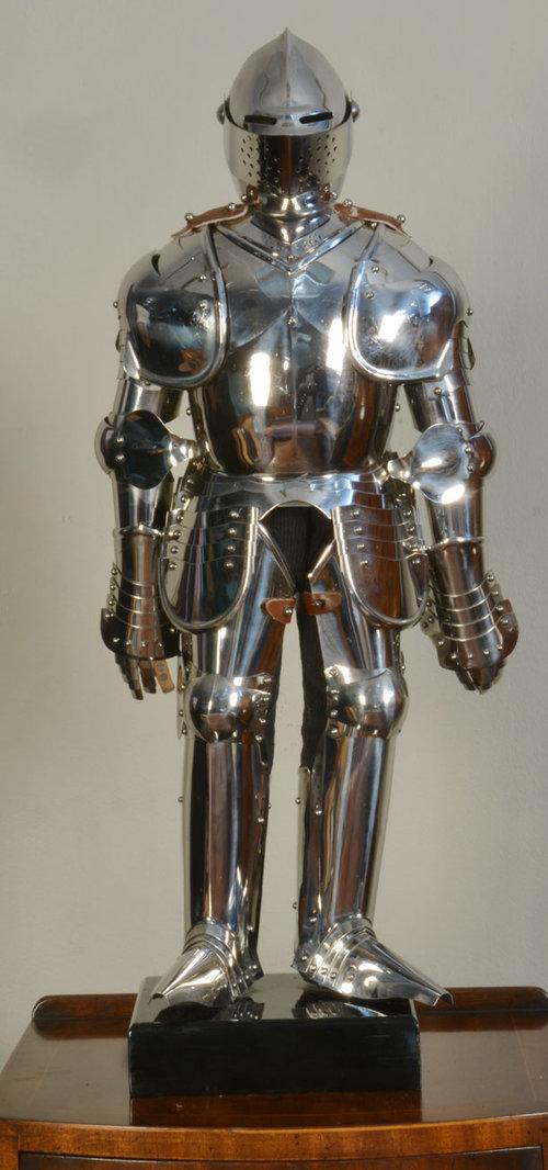 Miniature Full Suit Of Armour Antique