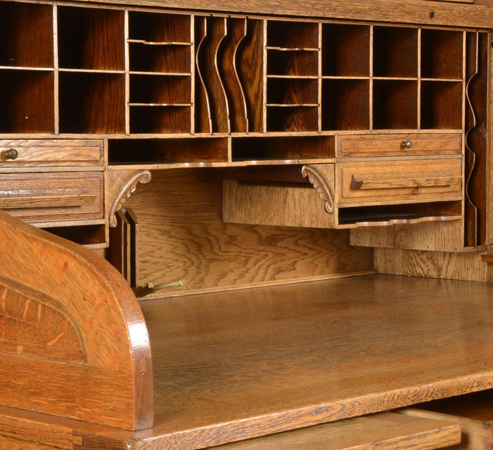 Cutler Antique Roll Top Desks Alt5