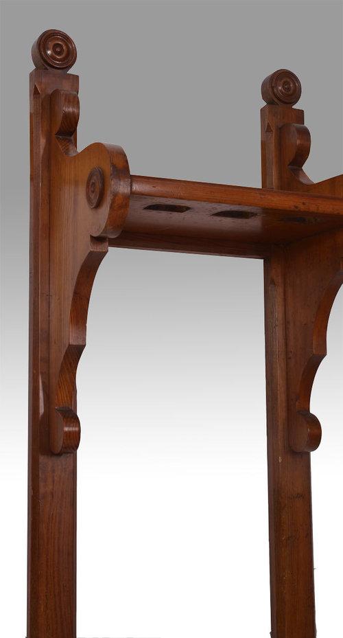 Antiques Atlas - Pitch Pine Gun Rack