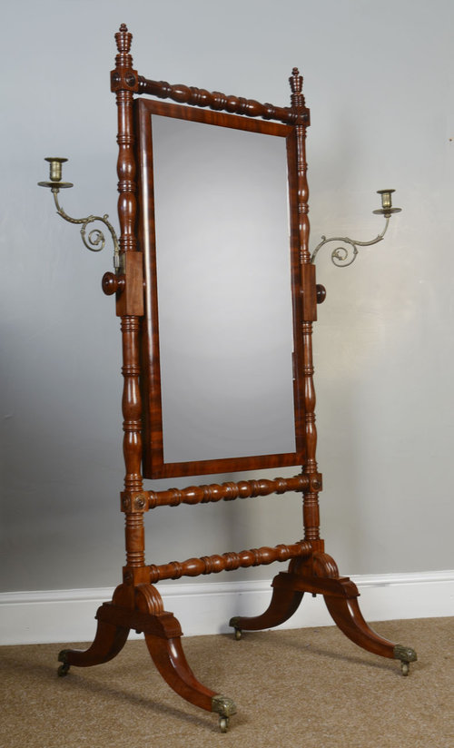 Antiques Atlas Regency Cheval Mirror