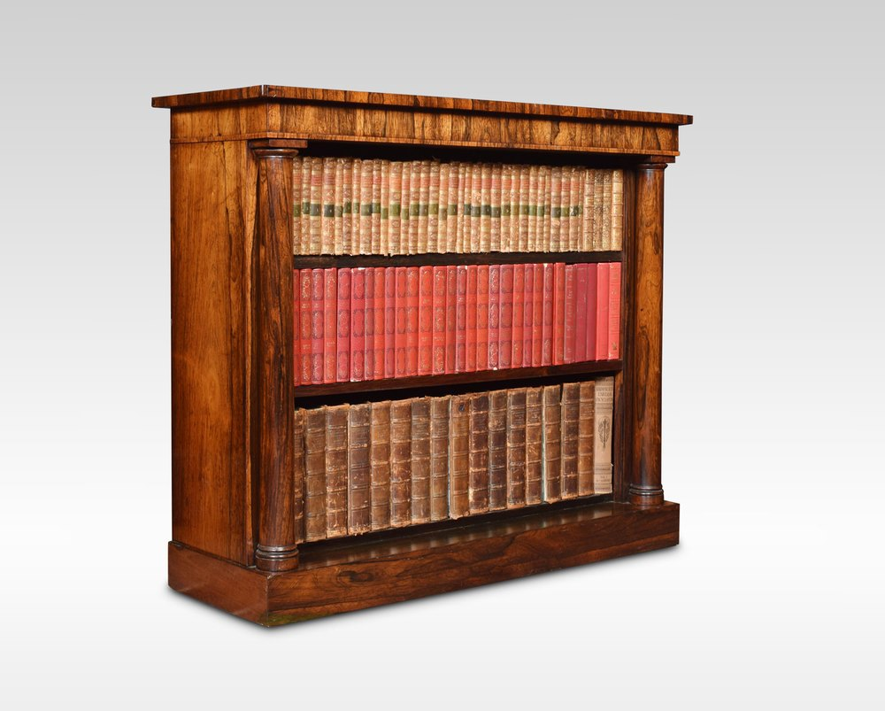 Rosewood Open Bookcase Antiques Atlas