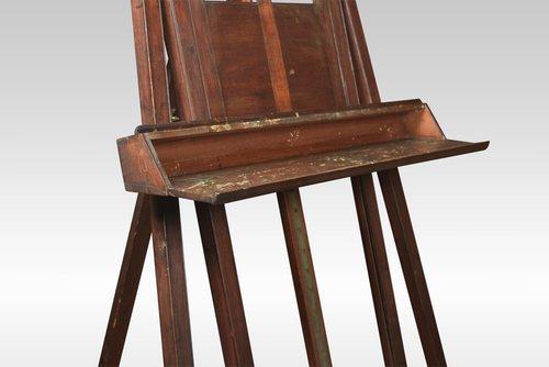 Victorian Mahogany Easel
