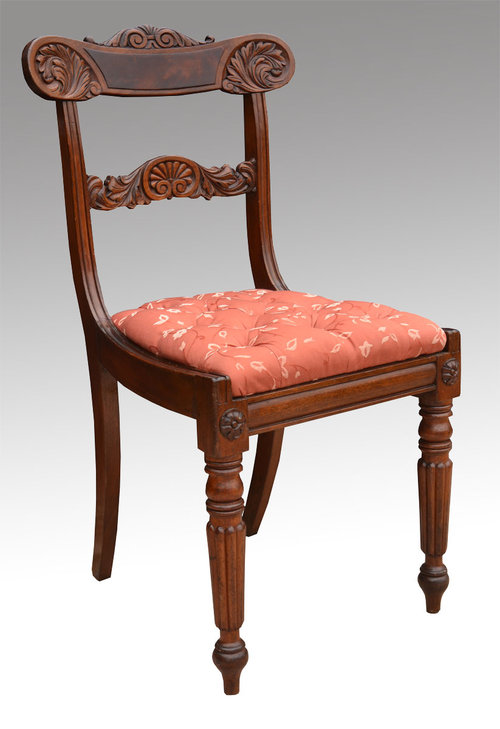 Victorian Mahogany Side Chair ...