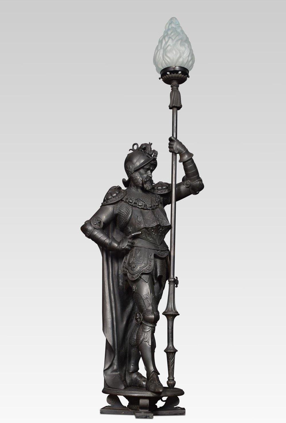 Antiques Atlas - Pair Of 19th Century Cast Iron Figures Of