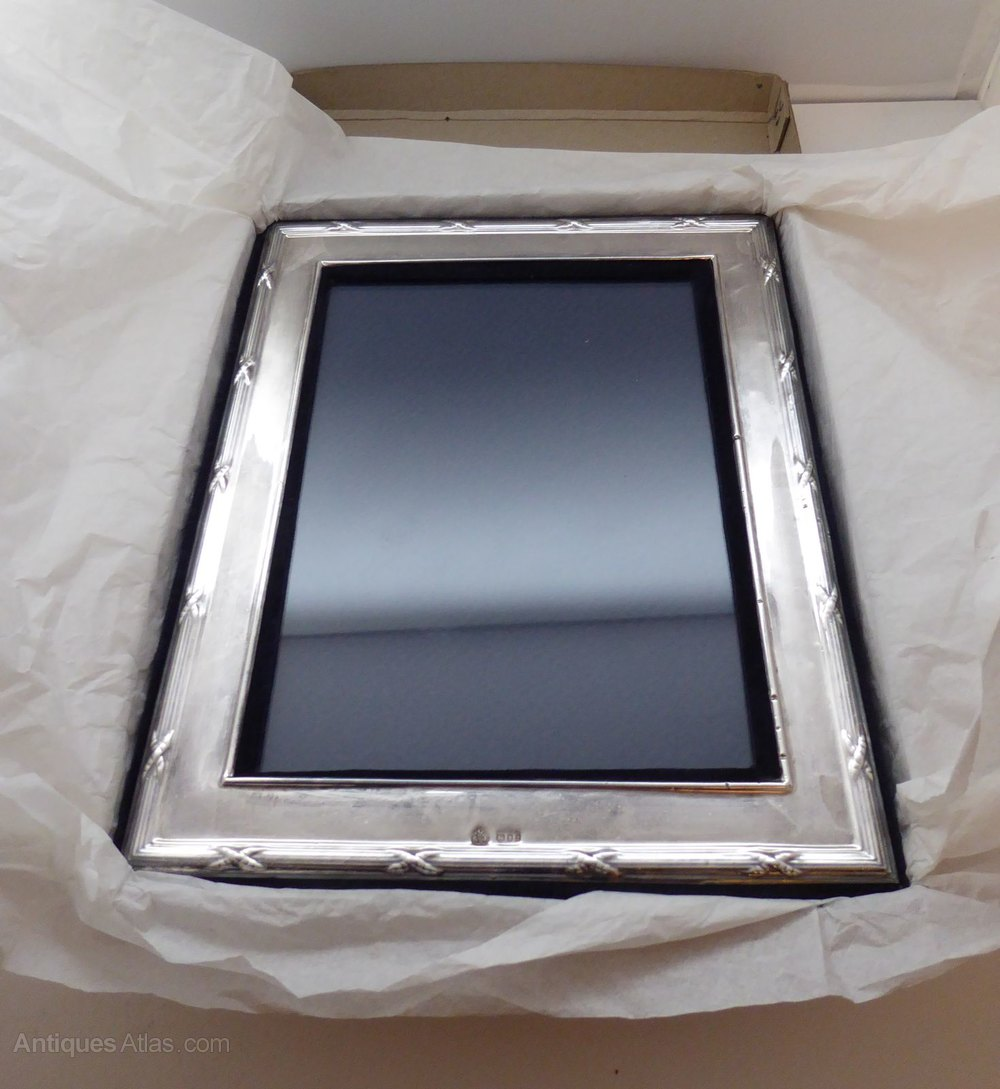Antiques Atlas - Hallmarked Solid Silver Picture Frame