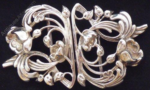 13eaccf4a Antiques Atlas - London Hallmarked Solid Silver Nurses Belt Buckle