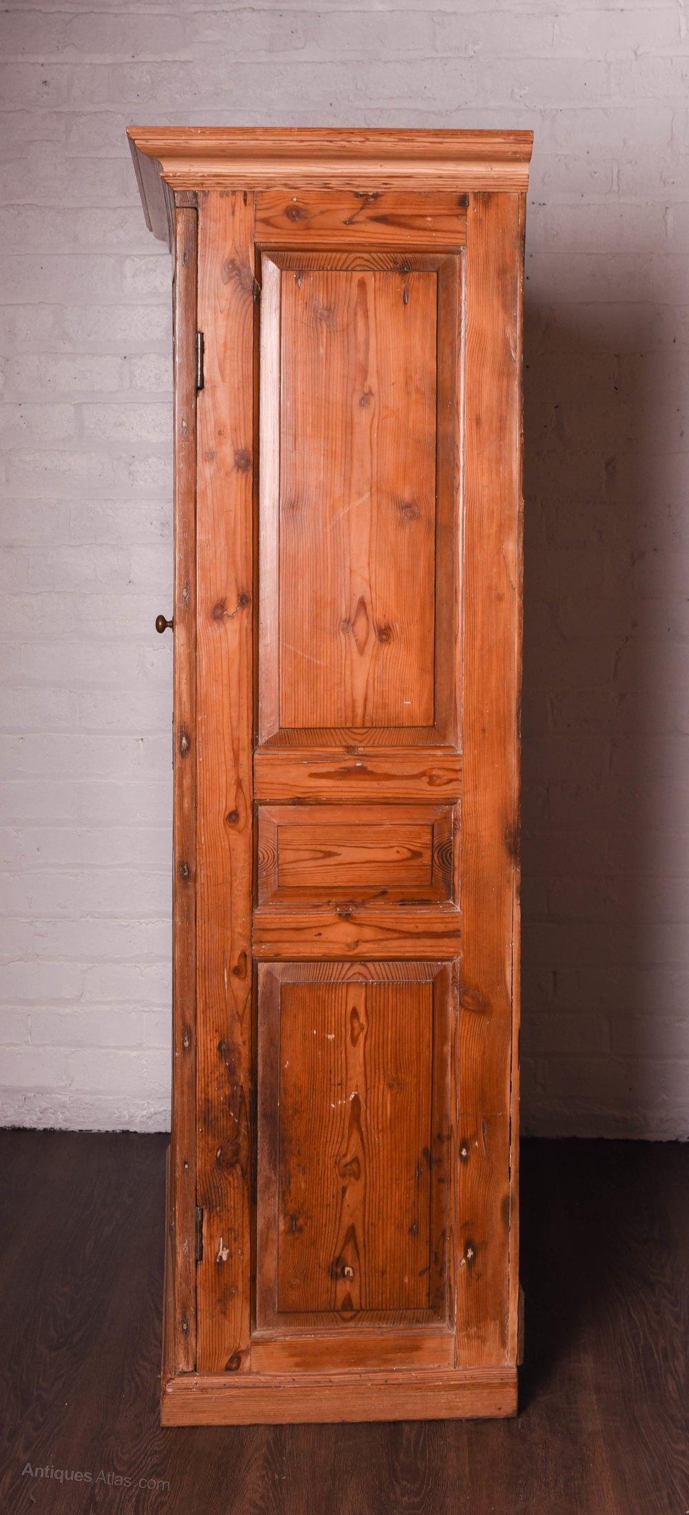 Georgian Scottish Pitch Pine Hall Cupboard Antiques Atlas