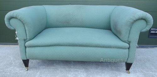 Edwardian Chesterfield Sofa Settee Antiques Atlas