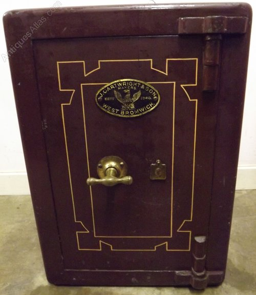 Antiques Atlas Victorian Cast Iron Safe By J Cartwright