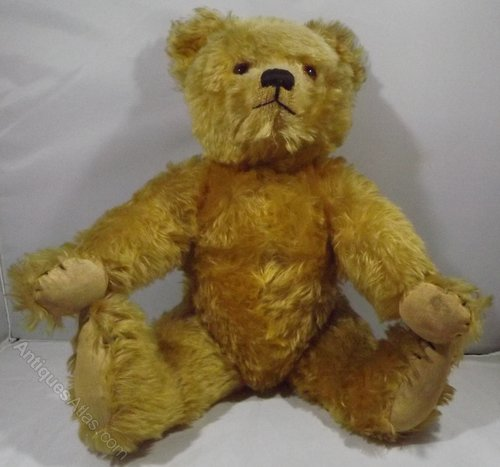 Nice Antique Teddy Bear No Label Charming Old Bear Antique