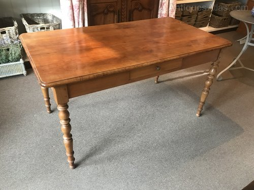 19ct French Fruitwood Dining Table Antiques Atlas