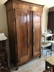 ... Antique French Cherry Armoire