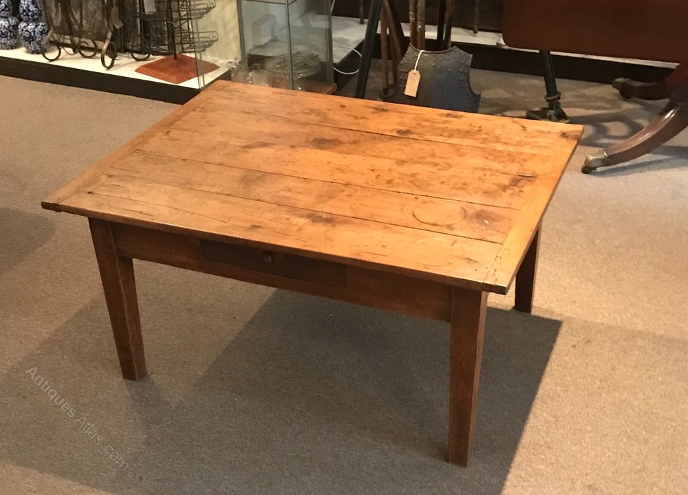Antique Fruitwood Coffee Table