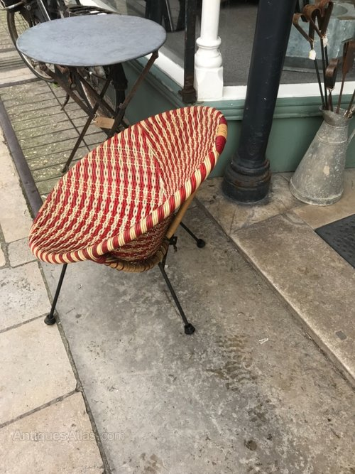 Terrific Antiques Atlas Vintage Retro Satellite Bucket Chair Customarchery Wood Chair Design Ideas Customarcherynet