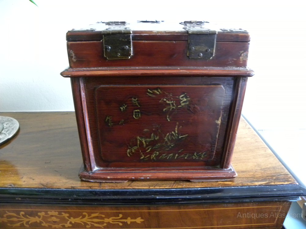 Geisha Makeup Box Antique Saubhaya