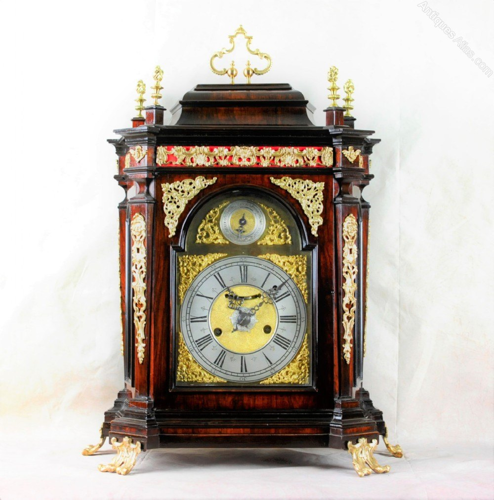 Rare Italian Verge Bracket Clock