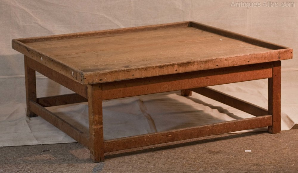 French Pine Coffee Table Antiques Atlas