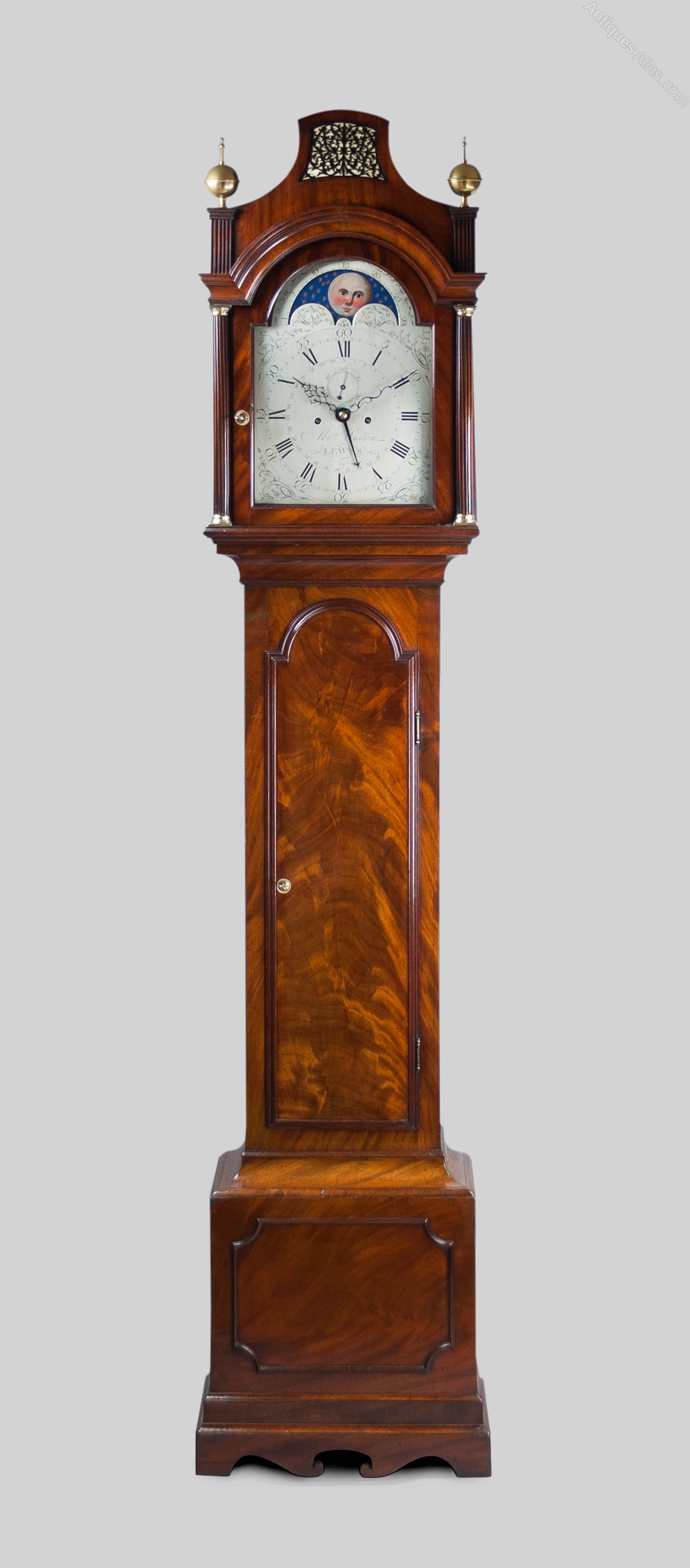 how to carry a grandfather clock
