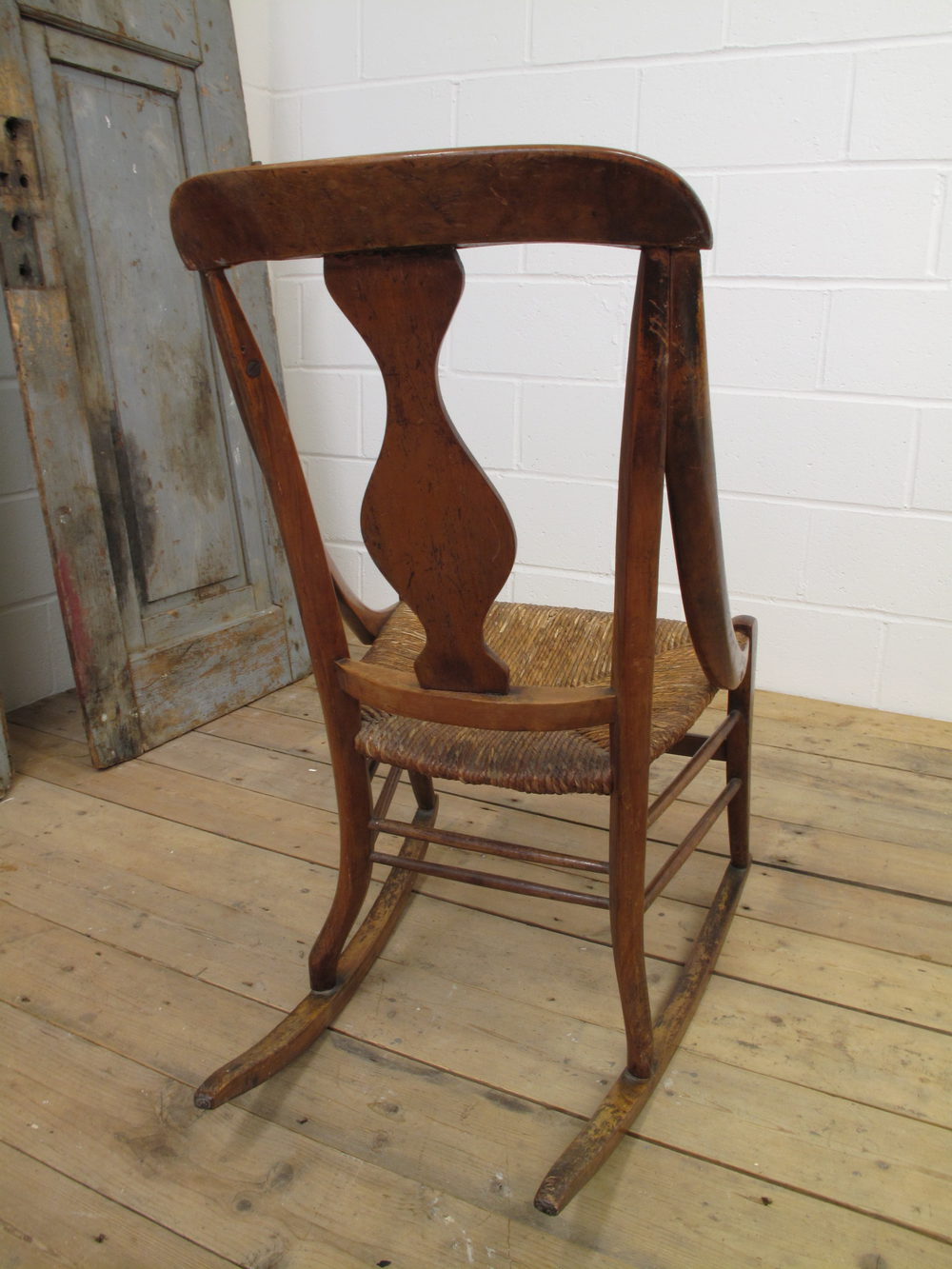... Circa 1900 Antique Rocking Chairs ... - French Cherrywood Rocking Chair, Circa 1900 - Antiques Atlas