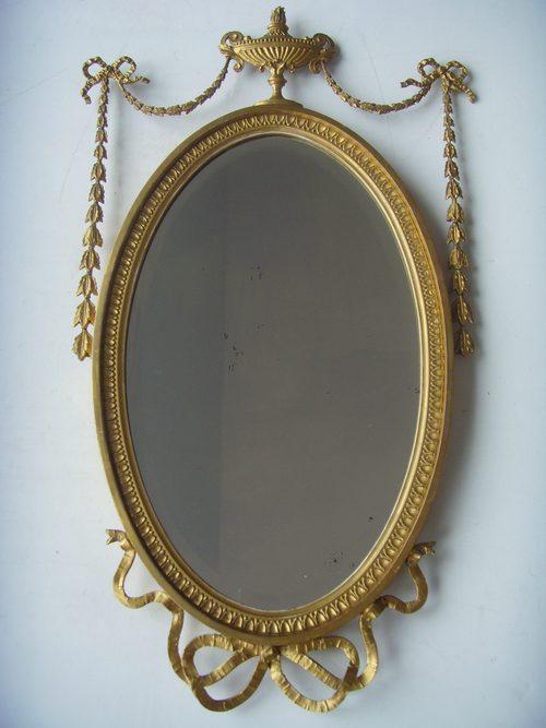 Wall Mirror Circa 1860 - Antique Mirrors - Hemswell