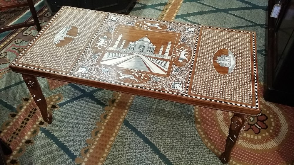 Anglo Indian Coffee Table Antique Tables
