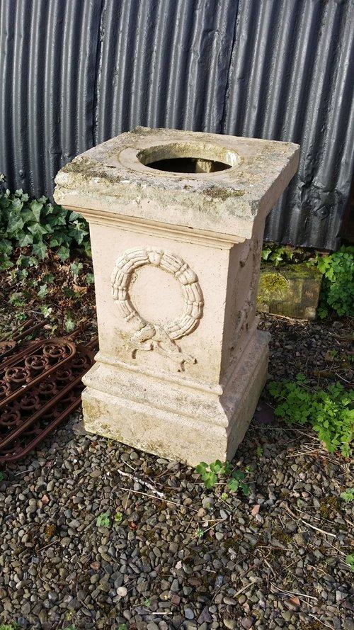Fireclay Garden Pedestal Plinth Antique Plinths