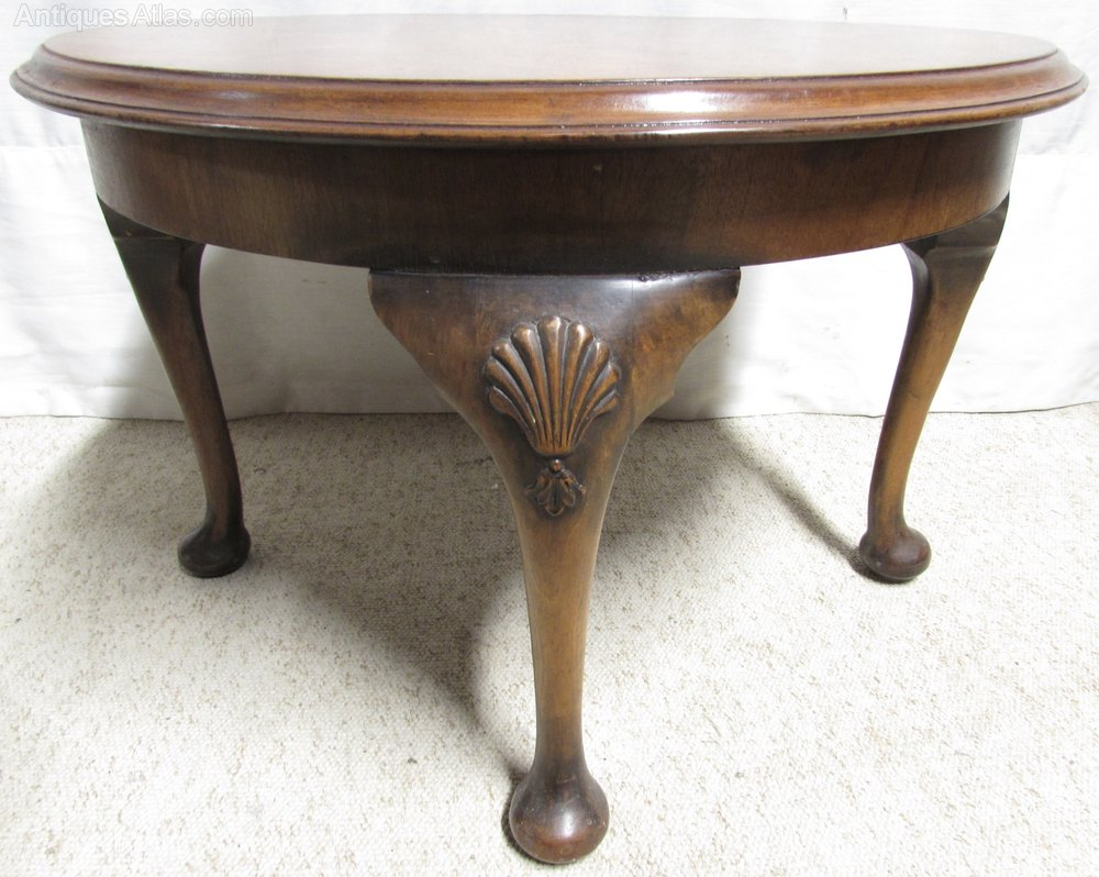 Perfect Burr Walnut Round Coffee Table Antique Coffee Tables burr walnut coffee