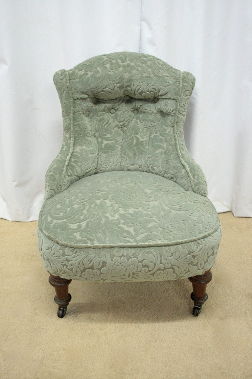 Small Victorian Chair Antique Armchairs, Occasional Chairs ...