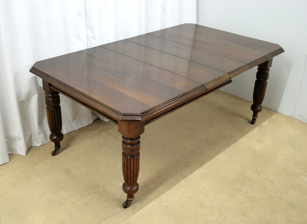 Victorian Gany Wind Out Dining Table Antique
