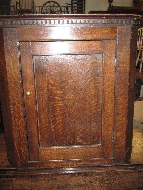 Georgian Oak Corner Cupboard Antique ... - Georgian Oak Corner Cupboard - Antiques Atlas
