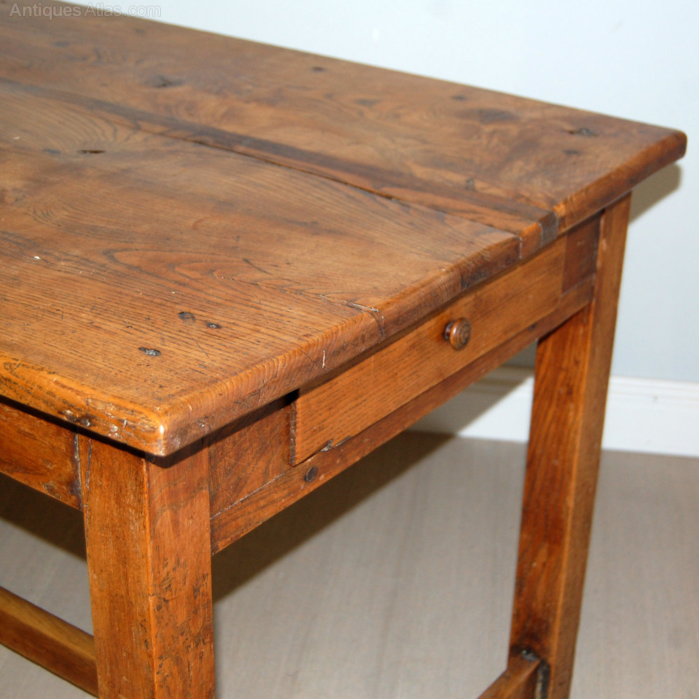 Antique French Kitchen Table - Antiques Atlas