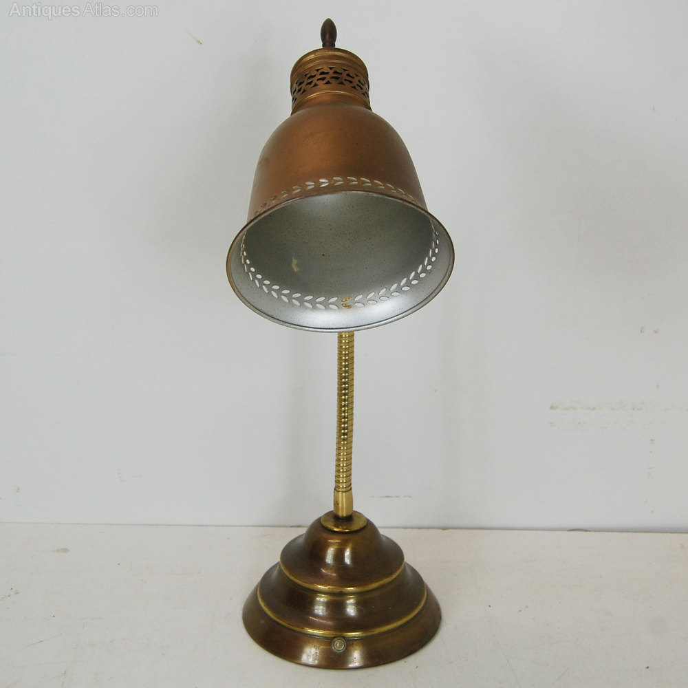 Antique Brass Student Desk Lamp Lighting Lamps